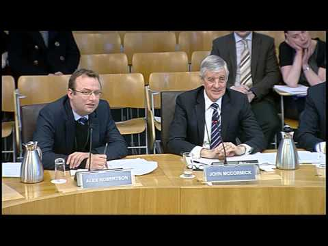 Devolution (Further Powers) Committee - Scottish Parliament: 8th January 2015