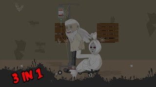Horor Lucu 3 in 1 - Kompilasi 52 Episode - Bagian 52 - Funny Cartoon - Horor Lucu Official