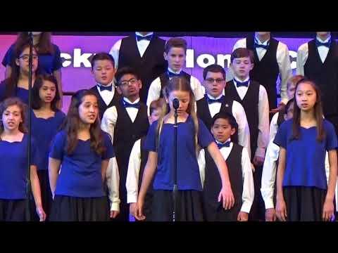 March 24, 2018 Hickman Honor Choir Disney Performance