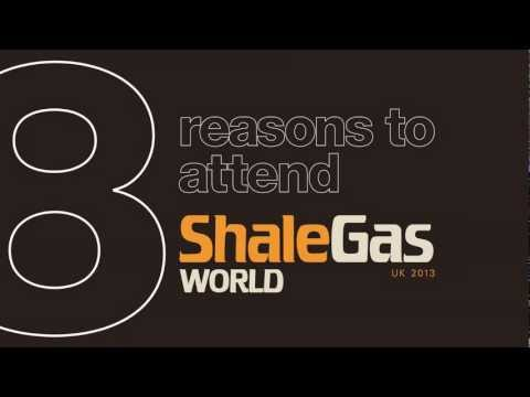 8 Reasons to attend the Shale Gas World UK