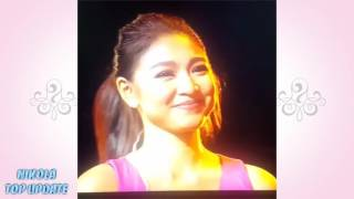 nadine teasing james and he was overcome with kilig that he couldnt respond