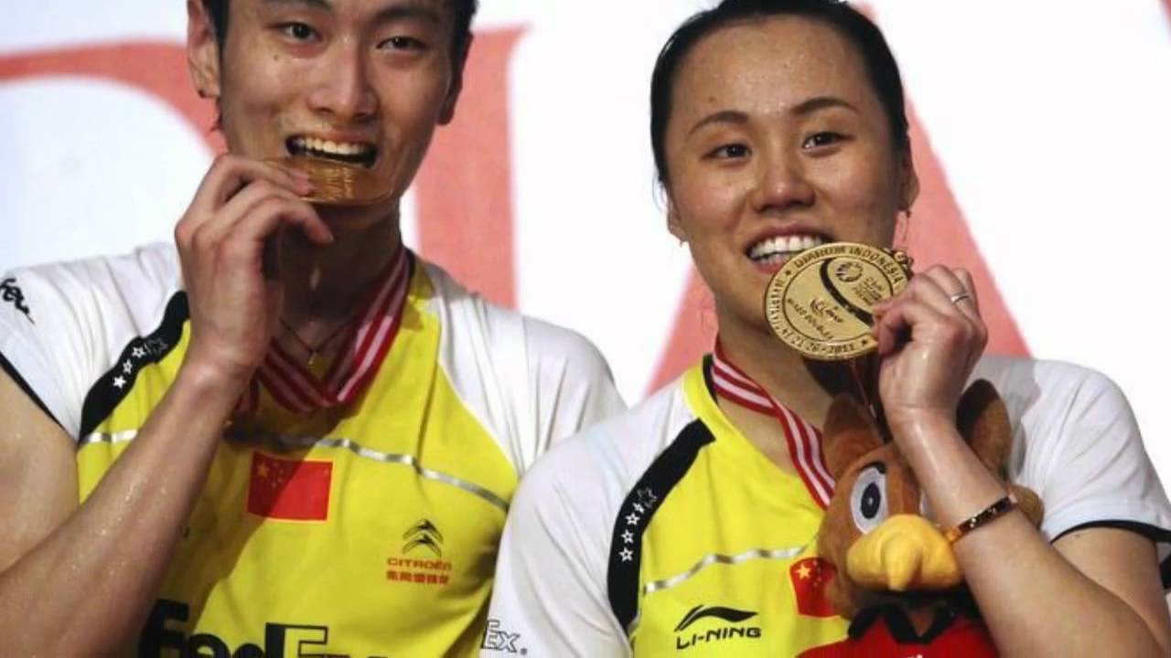China s Zhang Nan and Zhao Yunlei Wins Mixed Doubles Gold