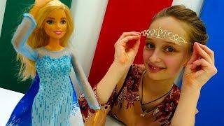 Видео для девочек - Барби готовится к костюмированной вечеринке