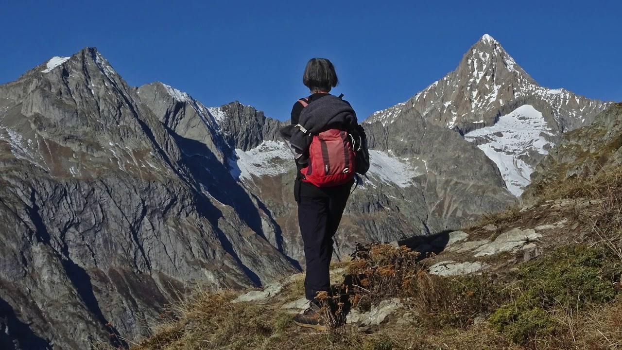 Im Banne der Walliser Bergwelt - aussichtsreiche Bergwanderungen oberhalb Mund