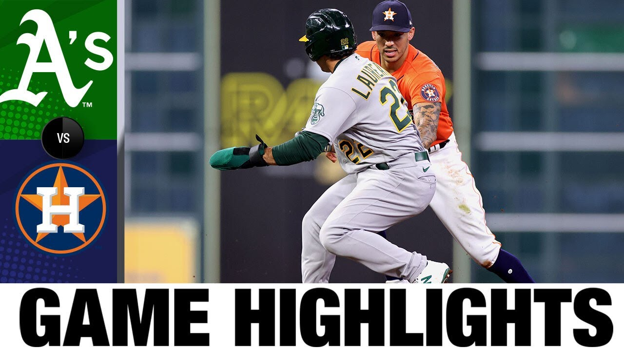 Download A's vs. Astros Game Highlights (4/9/21)   MLB Highlights