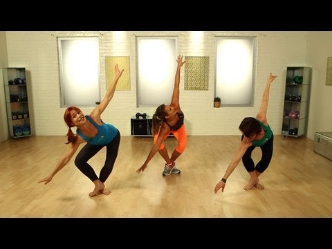 yoga booty ballet workout  ab and butt exercise  fit how