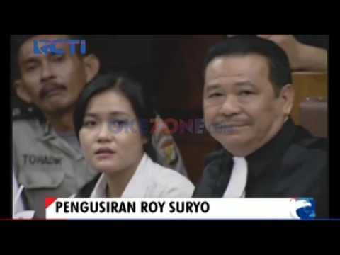 Tunjuk-tunjuk Hakim, Roy Suryo Diusir dari Sidang Jessica