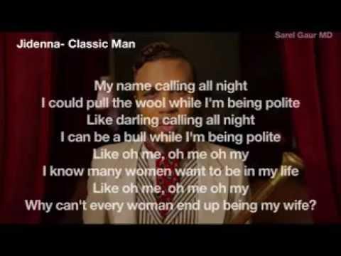 Download Parole de I am a Classic Man-Jiddena