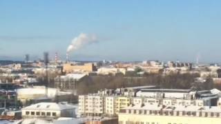 Полеты военного вертолета в Петрозаводске(, 2017-02-27T10:01:49.000Z)