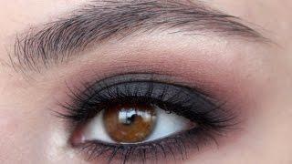 Simple Classic Black Smokey eyes Tutorial | Классические Черные Смоки Айс