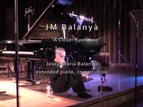 Josep-Maria Balanyà - A Closer Furniture