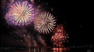 Feuerwerk Seenachtsfest Konstanz Kreuzlingen 2018: Das  große Finale