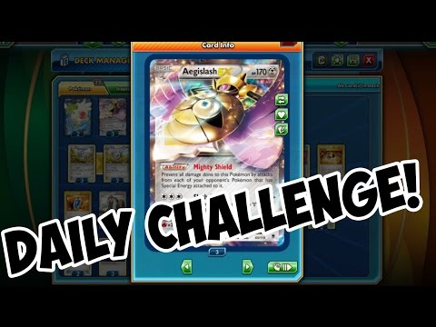 Daily Challenge! Metal Deck! Pokemon Trading Card Game Online
