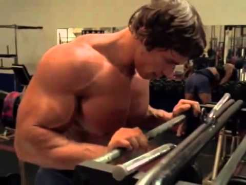 Arnold Schwarzenegger In Training    Motivation  Rocky IV