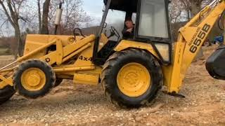 New holland ford backhoe