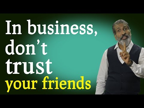 Dont trust friends, use enemies. Motivational speech By Anurag Aggarwal