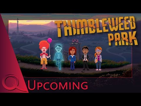 Thimbleweed Park (Lucas Arts Style Point & Click Adventure) | Gameplay/Trailer/Review | QELRIC