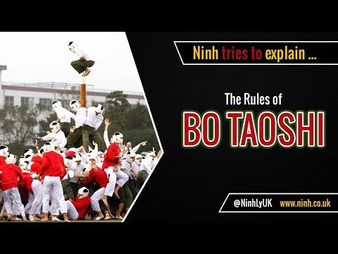 The Rules of Bo Taoshi - Weirdest Sport EVER!