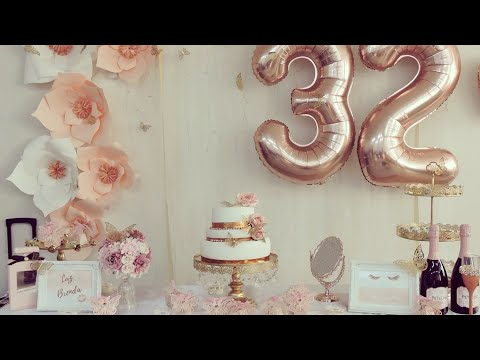 DECORACION ELEGANTE !!Mis 32 años ideas para decorar la mesa
