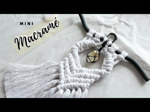 MACRAME - MINI MACRAME CON GEMA