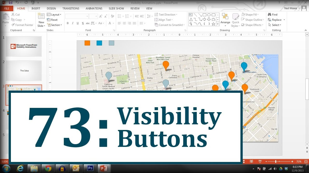 fd5001ff7a650a Microsoft PowerPoint  Show and Hide with Animation - YouTube