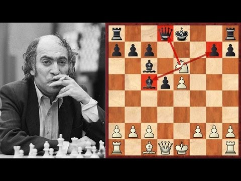 Mikhail Tal Crushes A Strong Grandmaster In Just 12 Moves