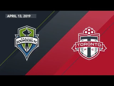 Seattle Sounders FC vs. Toronto FC | HIGHLIGHTS - April 13, 2019