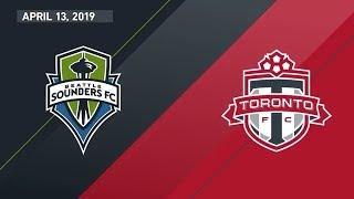 Seattle Sounders FC vs. Toronto FC   HIGHLIGHTS - April 13, 2019
