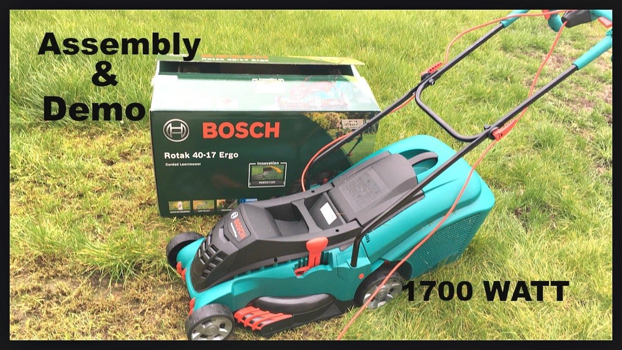 Bosch rotak 40 17 ergoflex corded rotary lawnmower 1700w - Bosch rotak 40 ...