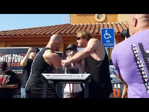Chris Chandler vs Matt Mask (2) @ WAL Armwrestling Riverside 2016