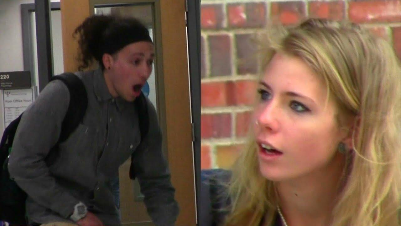 Jizzing on girls in public