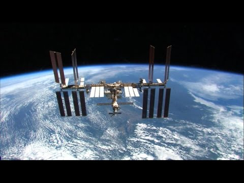 A 1-Minute History of the International Space Station