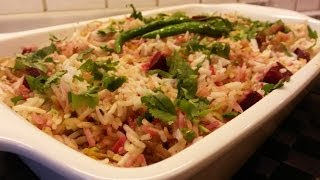 Beetroot Pulao - Indian Veggi Pulao - A Rice Dish By Tastebeat