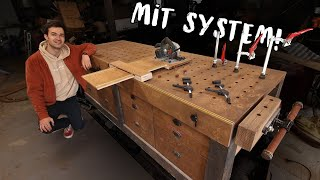 My system workbench is DONE! | Garage 4 E.13