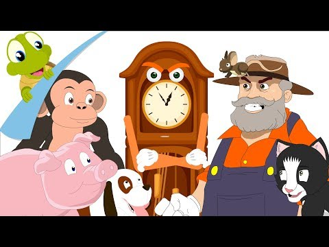 Hickory Dickory Dock | Kids Nursery Rhymes by Turtle
