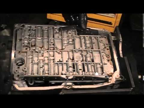 Mercedes Benz 722 6 transmission repair part 1