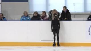 Зона Урала и Поволжья 2014 Прыжковые Алина Загитова Удмуртия