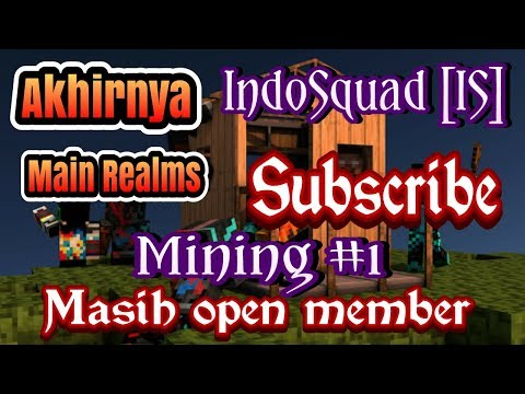 Streaming Mining #1 Realms IndoSquad