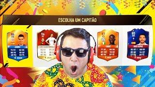 FUT DRAFT DO CARNAVAL!!!! A MANGUEIRA ENTROU?! FIFA 17 FUT DRAFT