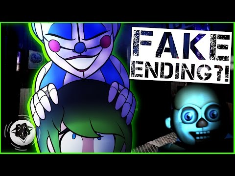 PRIVATE ROOM?! | SISTER LOCATION FAKE ENDING | DAGames