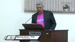 34ª Sessão Ordinária - Vereador Marcão Alves