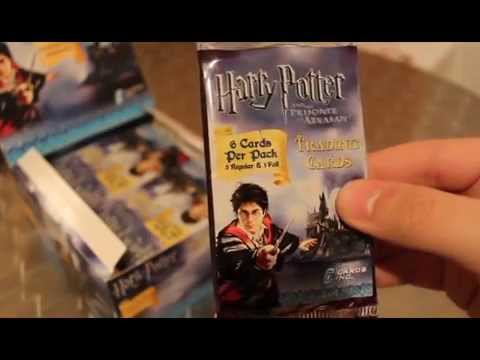 25 cards PANINI Harry Potter contact cards Trading Cards 5 Booster