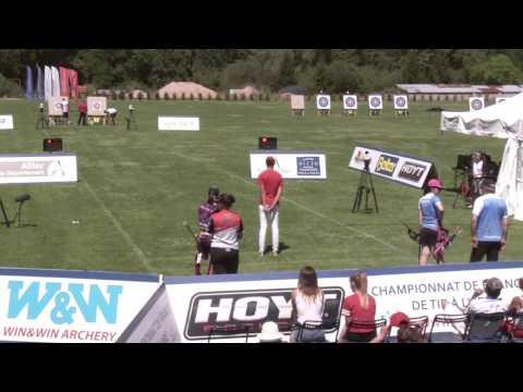 Grandjean - Gladine Or CFCO | Championnat de France FITA Jeunes Vichy 2017