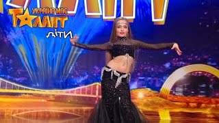 Can not be! Amazing belly dance on Ukraine's Got Talent.