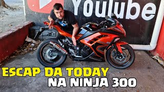 ESCAPAMENTO DA TODAY DO MAIKI 021 NA NINJA 300 GANHO 6 CV