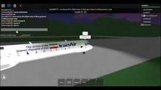 ROBLOX Iran + United Codeshare Flight