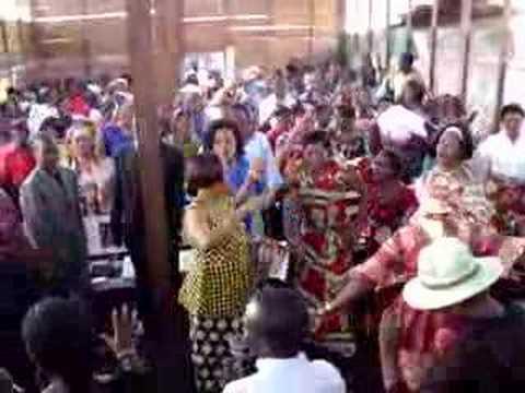 Democratic Republic of Congo Church Worship - Bruce McDonald