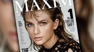 Taylor Swift is #1 On Maxim's Hot List!