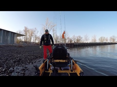 Kayak Fishing The Hudson River, Beacon And Croton, Spring Striper Run 2017