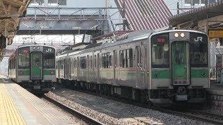 JR東北本線 福島駅 701系